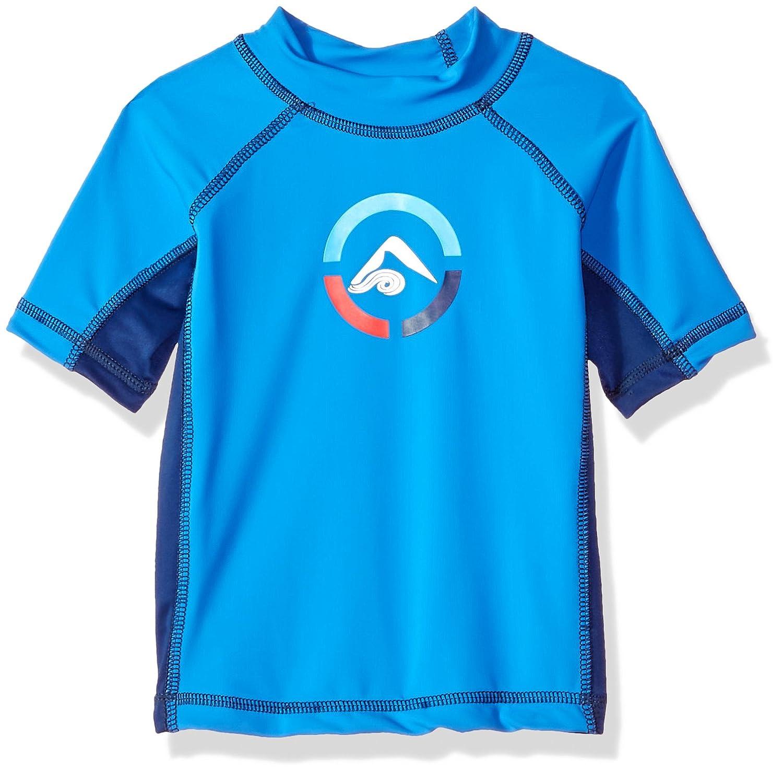 Kanu Surf Boys' Revival UPF 50+ Sun Protective Rashguard Swim Shirt