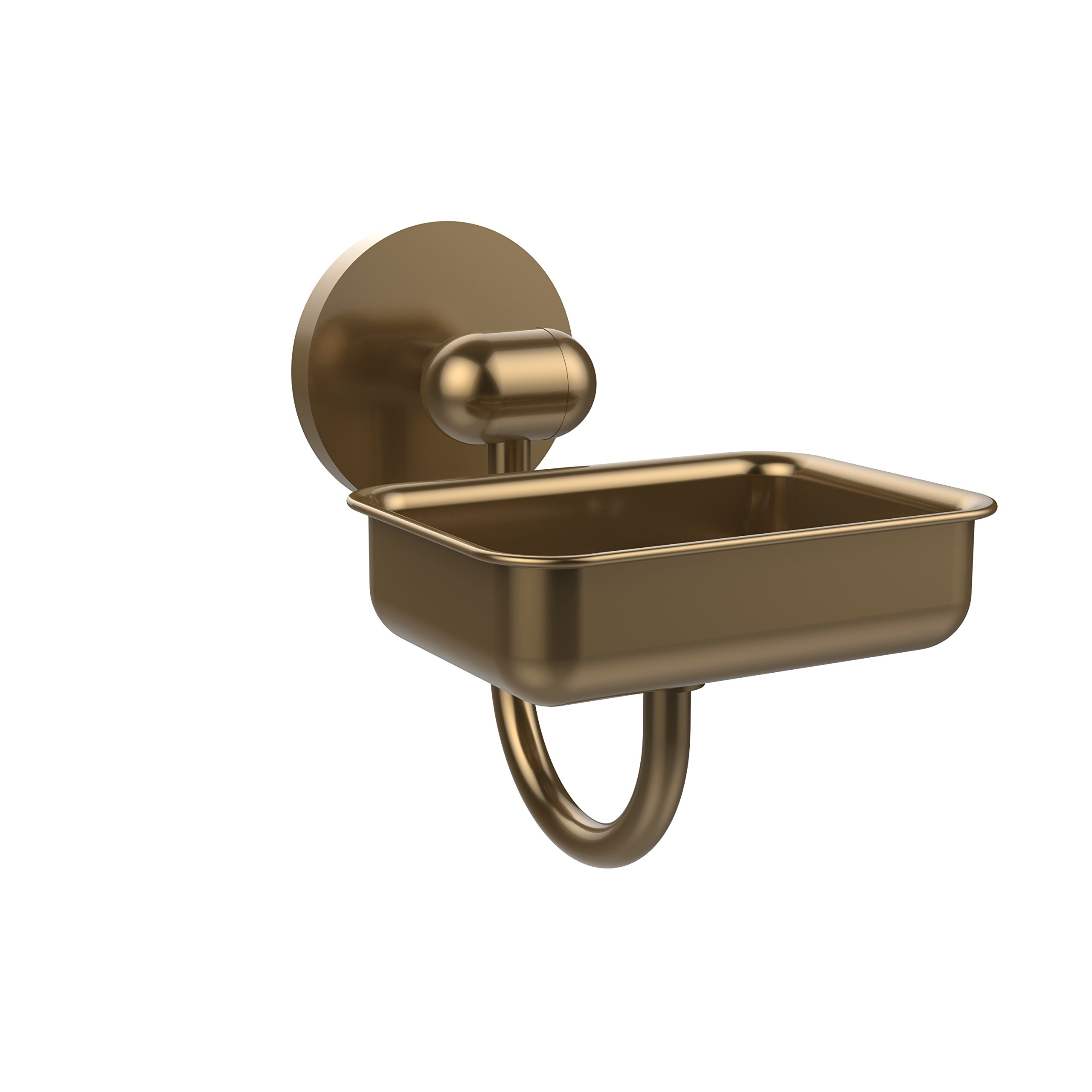 Allied Brass TA-32-BBR Tango Collection Wall Mounted Soap Dish Brushed Bronze