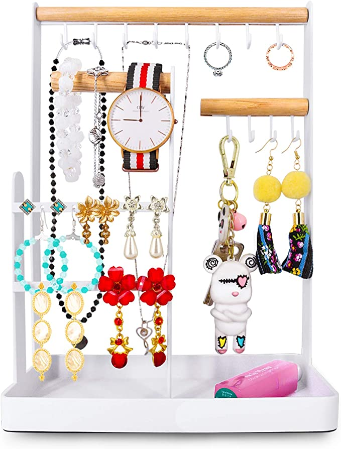 Velvet Soft Jewelry Storage Rack Holder Counter Dressing Table Shop Organizer Gift 6 Finger aXXcssqw9b Ring Display Stand