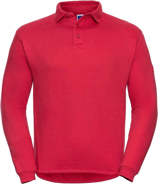 Russell J0Age 1-2M Heavy Duty Collar Sweatshirt Blank Plain J012M