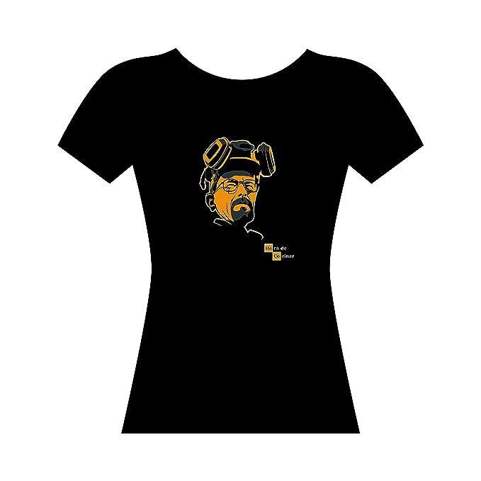 HORA DE COCINAR - camiseta - CHICA - BREAKING BAD - walter white - GAMBA TARONJA: Amazon.es: Ropa y accesorios