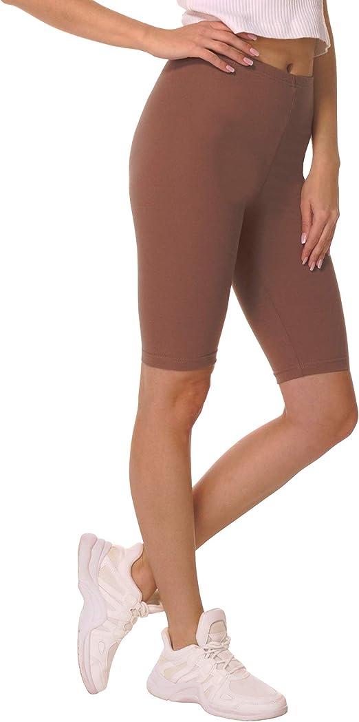 BeComfy Pantalones Cortos de Mujer Polainas Leggings Ciclismo ...