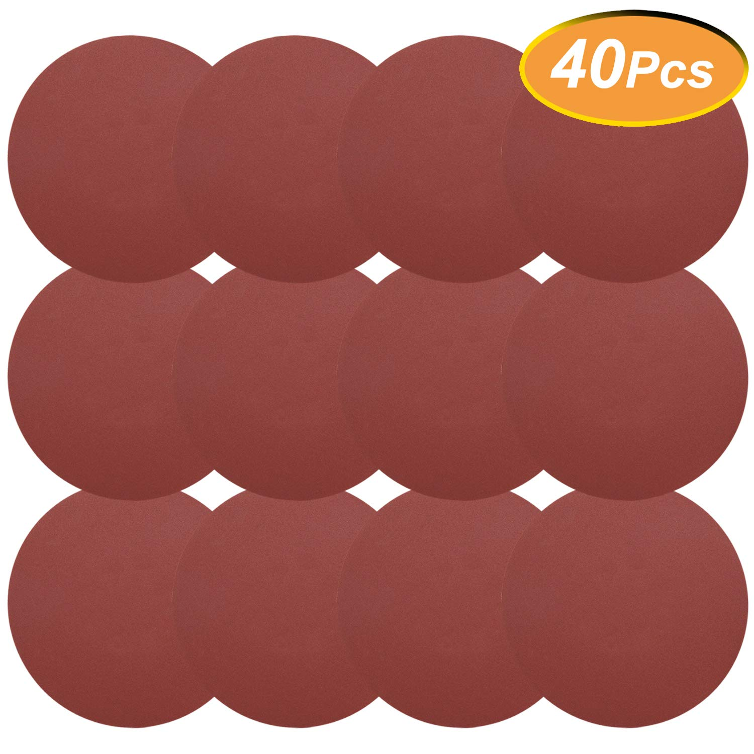 GOH DODD Wet Dry Water Sander Sheets 600//800//1000//1200 Grits 5 Inch Grinding Abrasive Sanding Disc for Wood Furniture Finishing Sandpaper 20 Pieces Metal Sanding and Mirror Jewelry Car Polishing