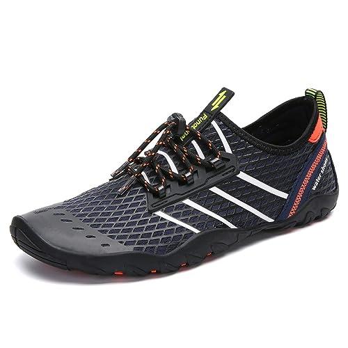7447cf5fe5454 Mujer Zapatos de Agua para Hombre Surf Escarpines Playa Natación Respirable  Antideslizante Playa Natación Aire Libre 35-46  Amazon.es  Zapatos y ...
