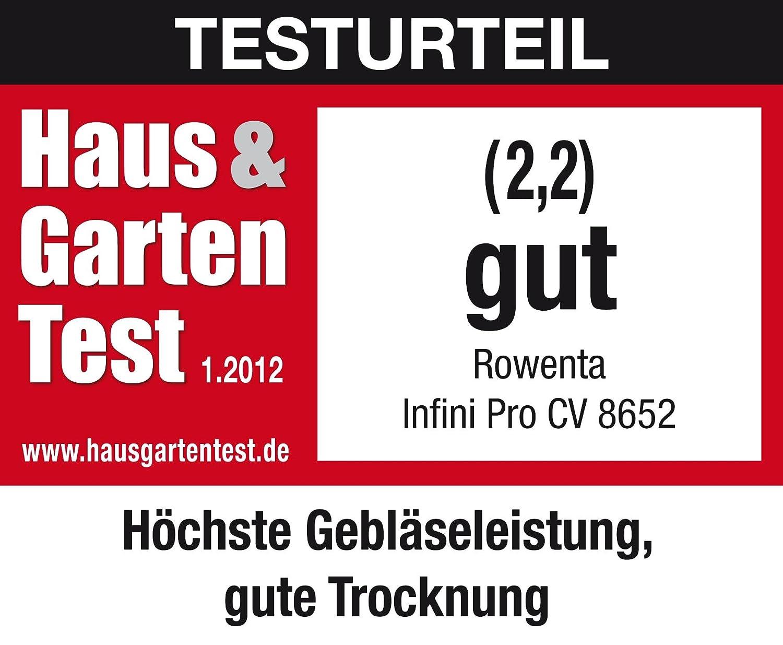 Amazon.com : Rowenta Infini Pro Elite CV 8652 Haartrockner schwarz : Ped : Grocery & Gourmet Food