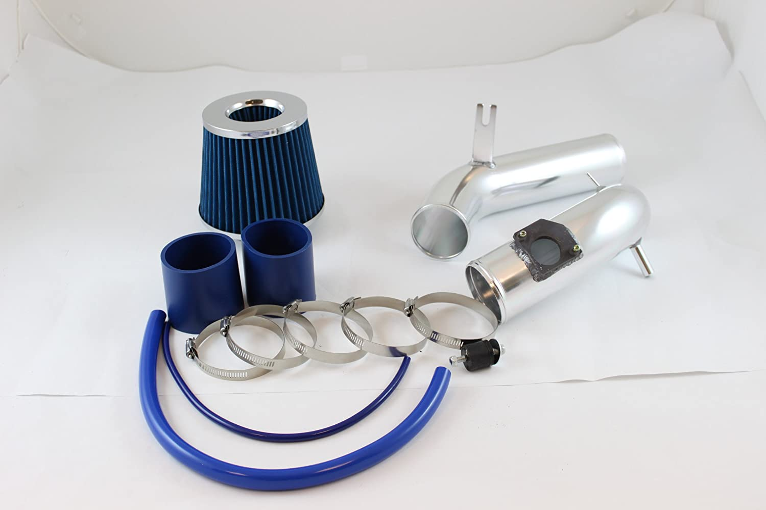 Filter For 03-08 Mazda6 6 2.3L L4 N//A Velocity Concepts 2.75 Red Cold Air Intake Induction Kit