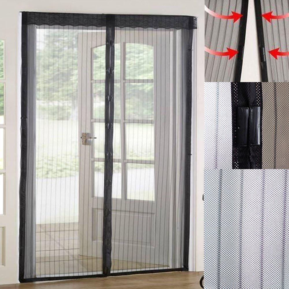Magnetic Door Curtain Fly Screen Mosquito Bug Repellent