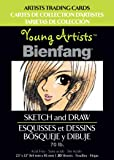 Bienfang Young Artists Trading Cards, Sketch and