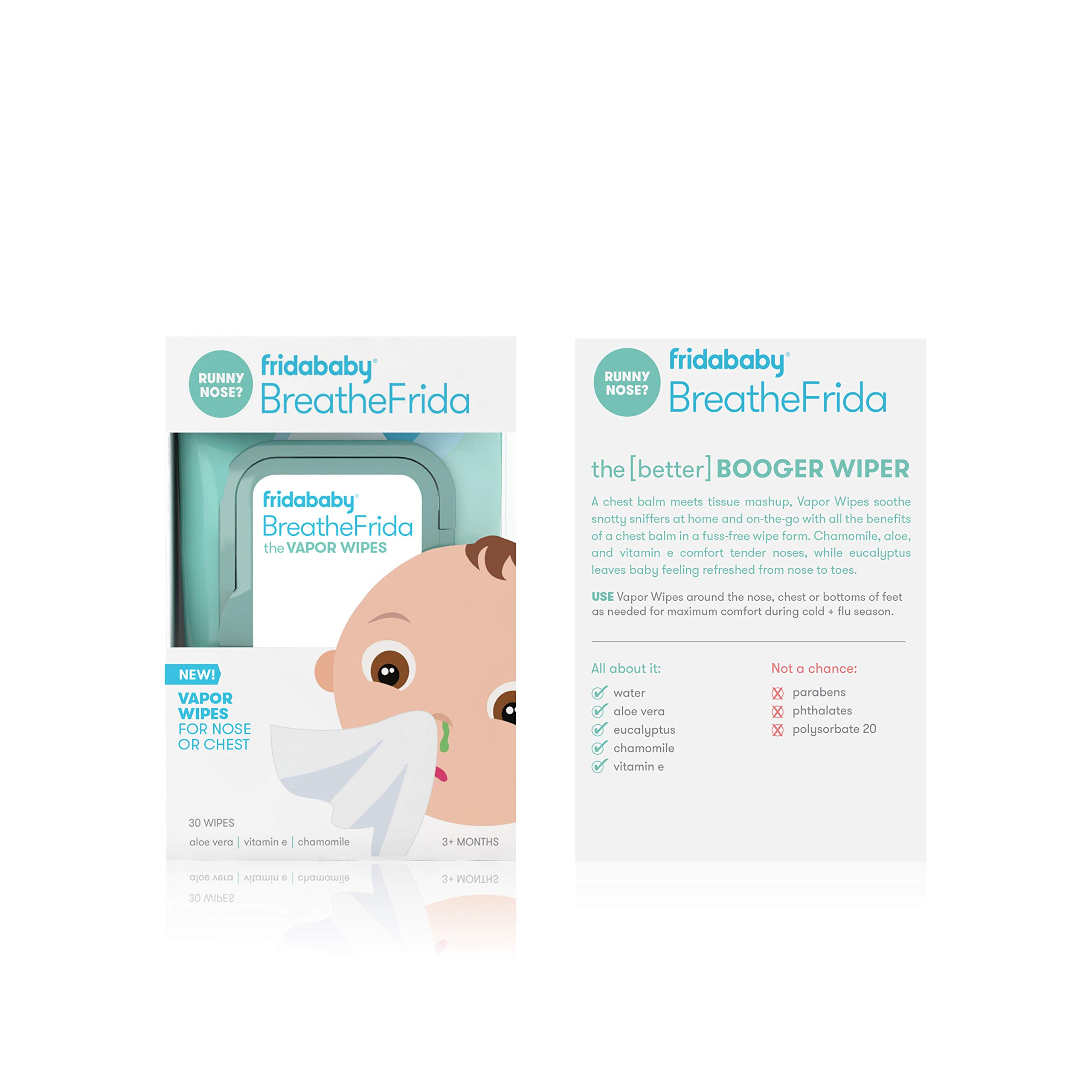 Cold and Flu NoseFrida Bundle- 5 Items by Frida Baby by FridaBaby