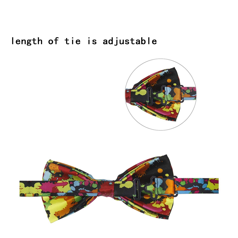 1 Pieza Moda Diseño Corbata De Lazo Ajustable De Poliéster Para ...