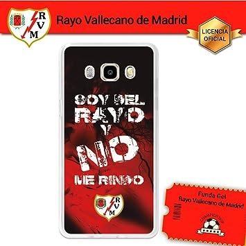 Rayo Vallecano Funda Gel Flexible Samsung Galaxy J5 2016, Carcasa ...