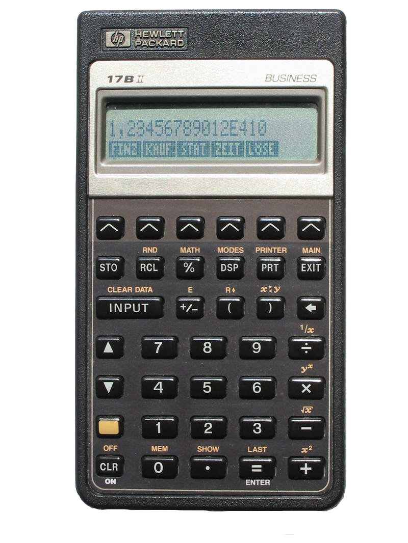 HP 17BII Financial Calculator by HP (Image #1)