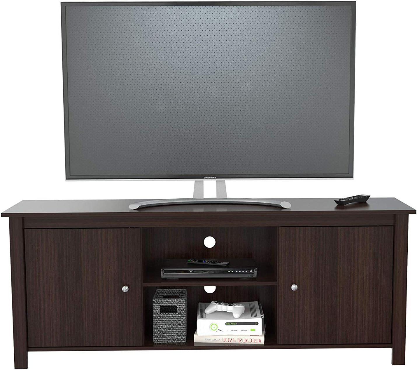 Inväl Deluxe Premium Collection - Mueble de Madera para TV de 60 Pulgadas en Espresso-wengue: Amazon.es: Hogar