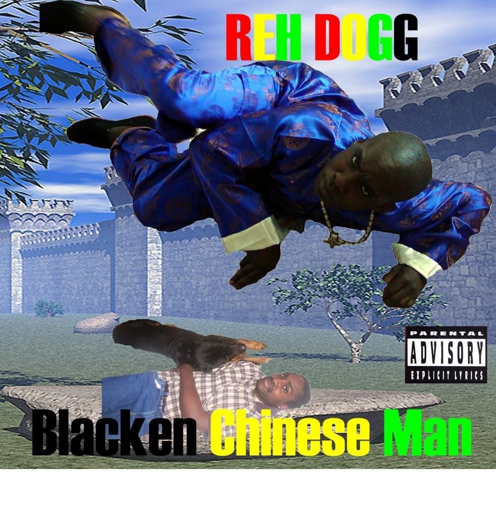 Blacken Chinese Man