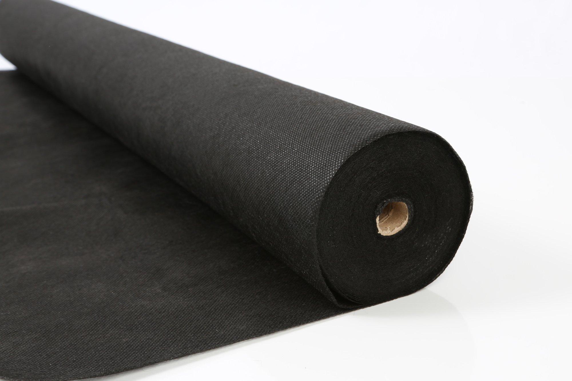 AHG Landscape Garden Fabric for Weeds 3ft x 300ft / 20 YR Premium Series, 3 Feet x 300 Feet, Black by AHG