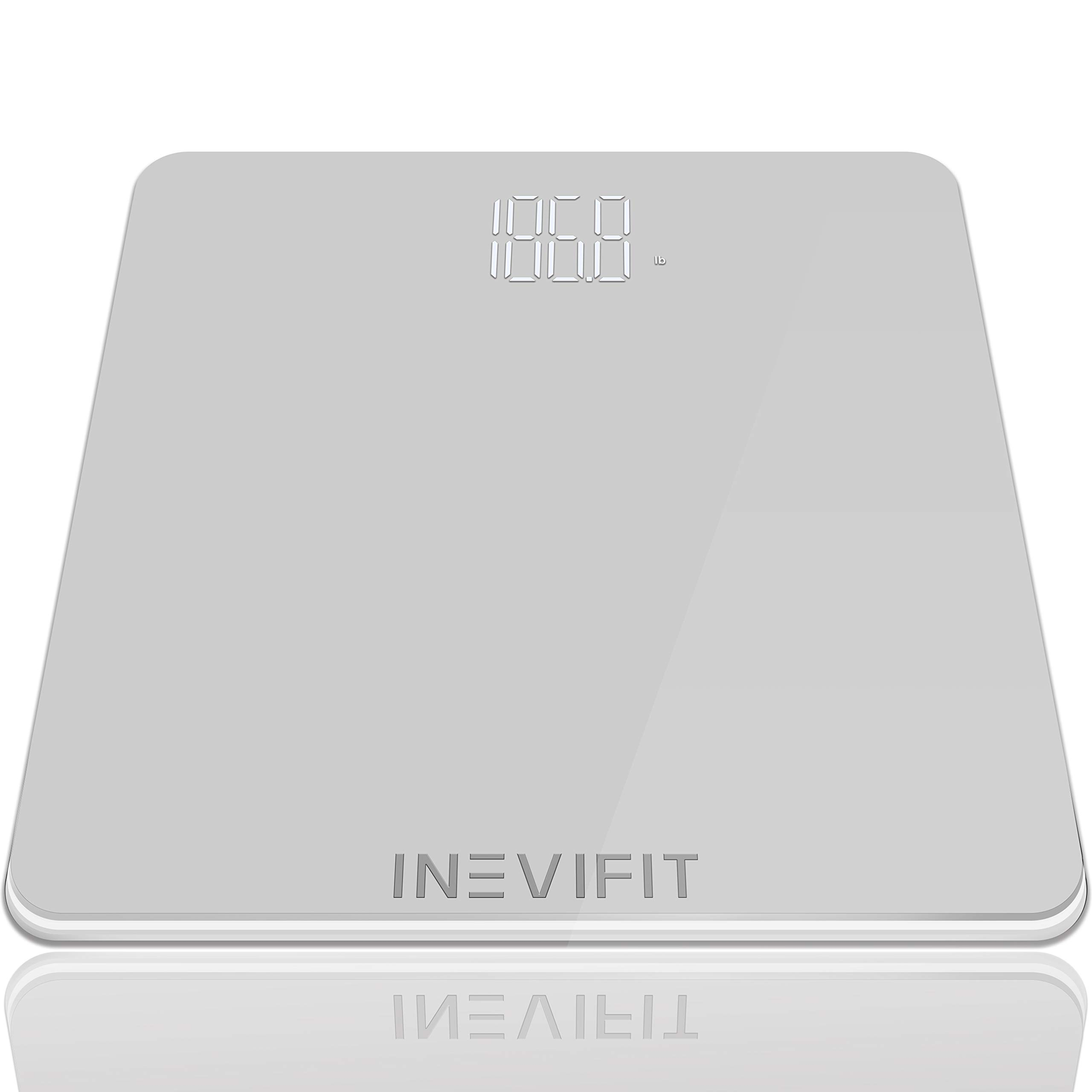 INEVIFIT Bathroom Scale, Highly Accurate Digital Bathroom Body Scale, Precisely Measures Weight up to 400 lbs by INEVIFIT