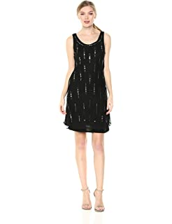 Desigual Womens Cassido Sleeveless Cocktail Dress,