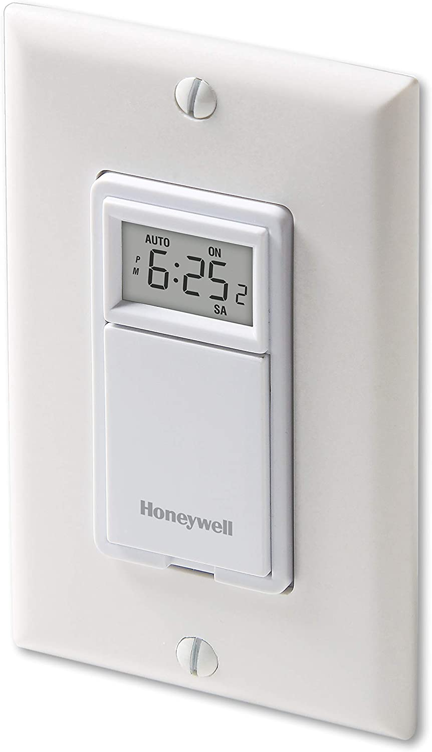 Honeywell 7-Day Programmable Wall Mount Timer Switch For Lights And Motors New