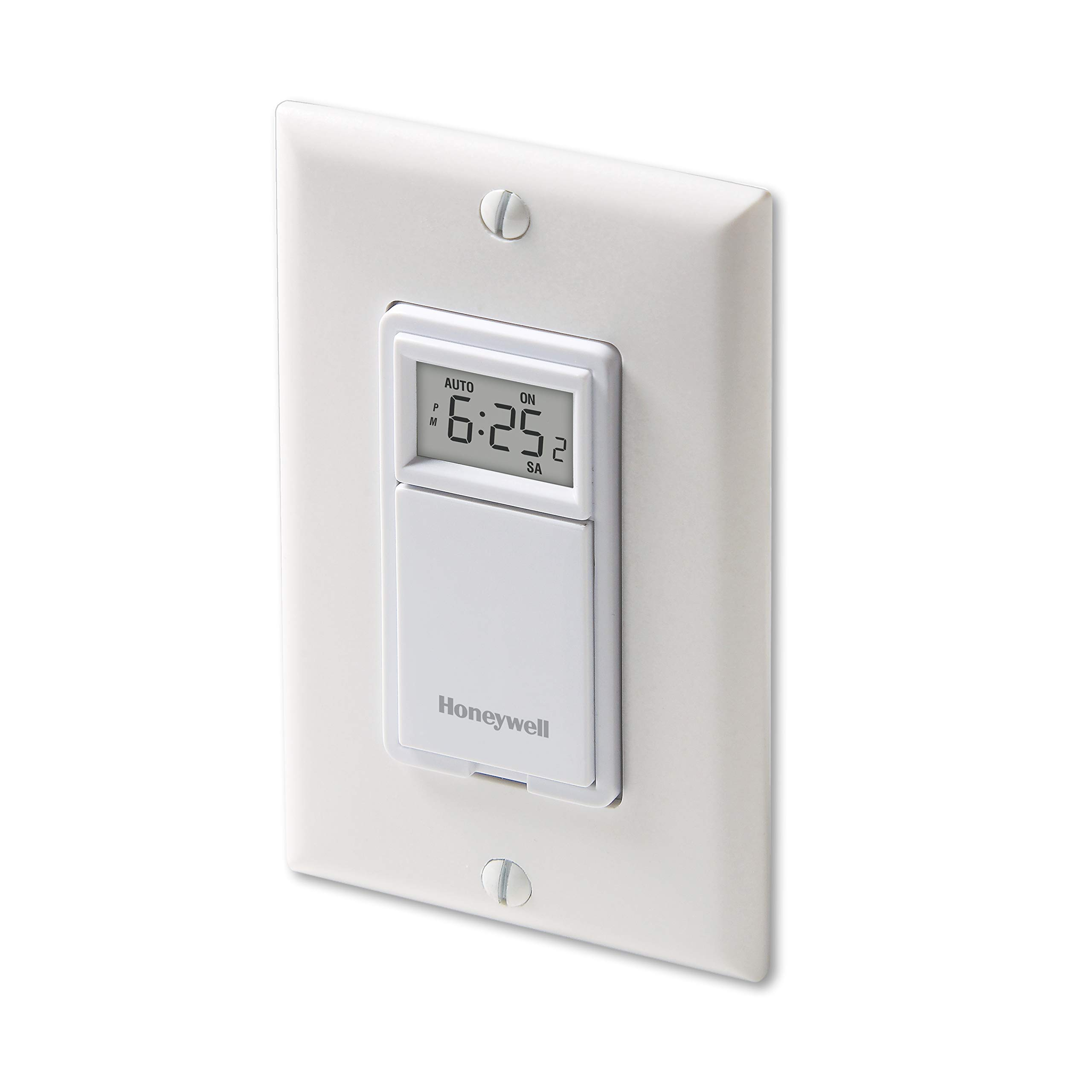 Honeywell RPLS730B1000/U RPLS730B1000 7-Day Programmable Light Switch Timer, White by Honeywell