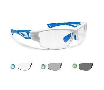 BERTONI Gafas de Sol Deportivas Fotocromaticas para Hombre Mujer Deporte Ciclismo Running Esqui MTB – Mod