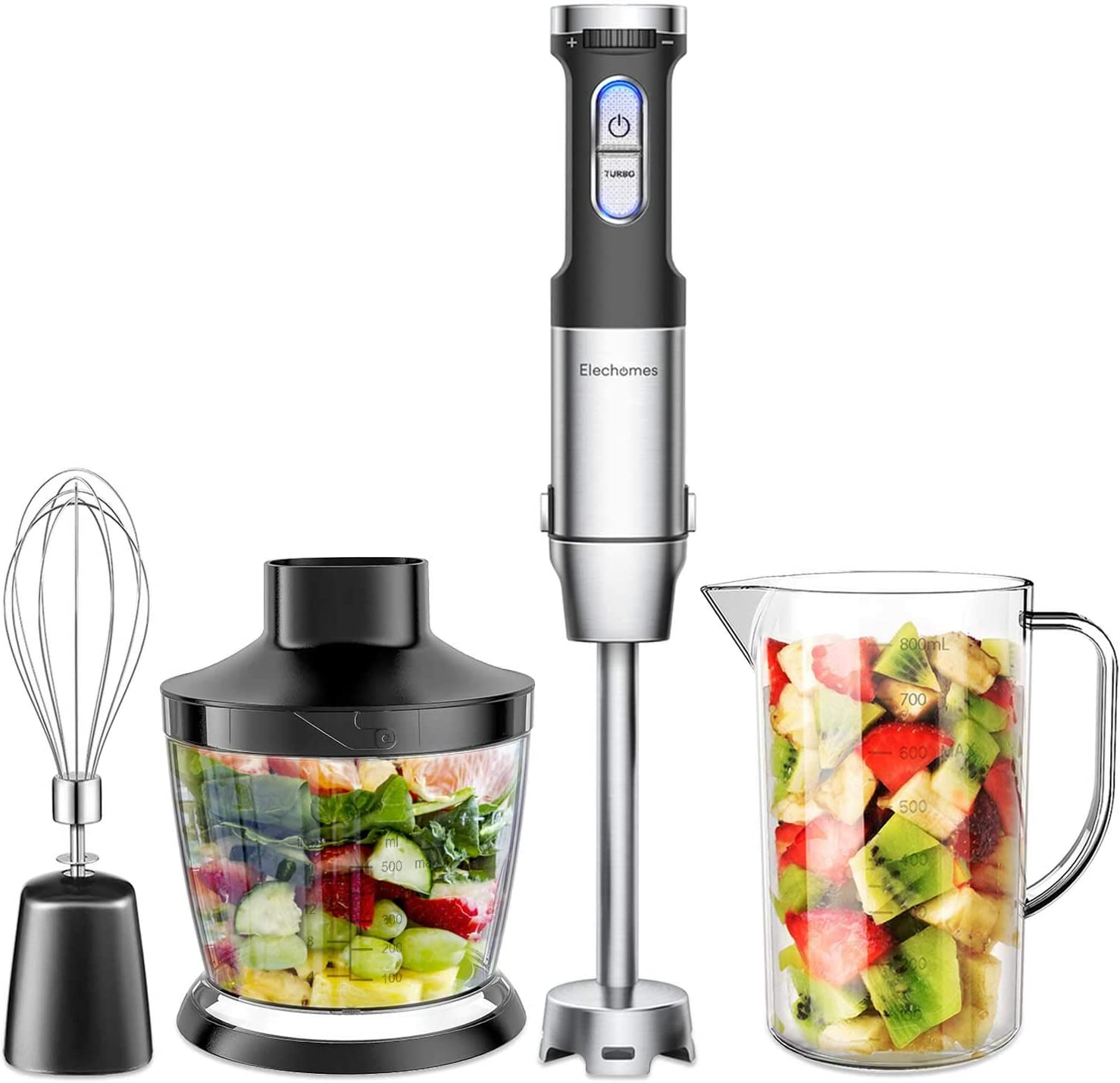 Amazon coupon code for 4-in-1 Hand Immersion Blender with 800W