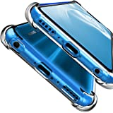 HUUH Funda Huawei Honor 8X, Slim,TPU de Alta Transparencia Cubierta Protectora,sin deformación,Duradero,Cuatro Esquinas engrosadas