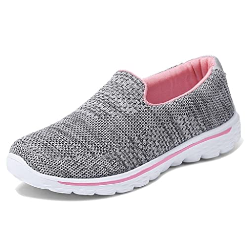 TRULAND Zapatillas sin Cordones para Mujer Confort Ultra Ligeros: Amazon.es: Zapatos y complementos