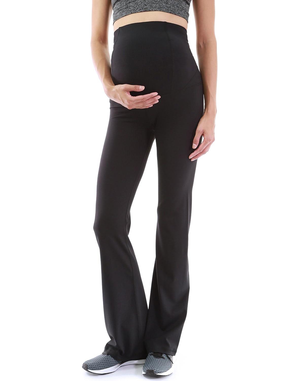 1027a27c3ef8e PattyBoutik Mama Bootcut Maternity Yoga Pants at Amazon Women's Clothing  store:
