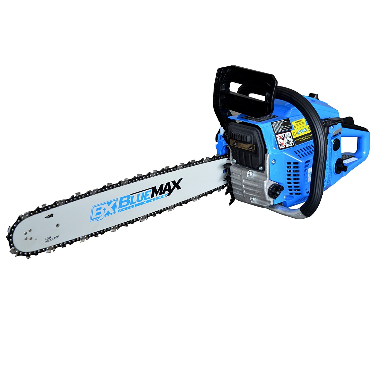 Blue Max 6595 18-Inch 45cc 2-Stroke Gas Powered Chain Saw Homier Distributing