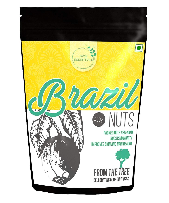 Premium Brazil Nuts, 400gm (14.10 oz) by Raw Essentials (Image #1)