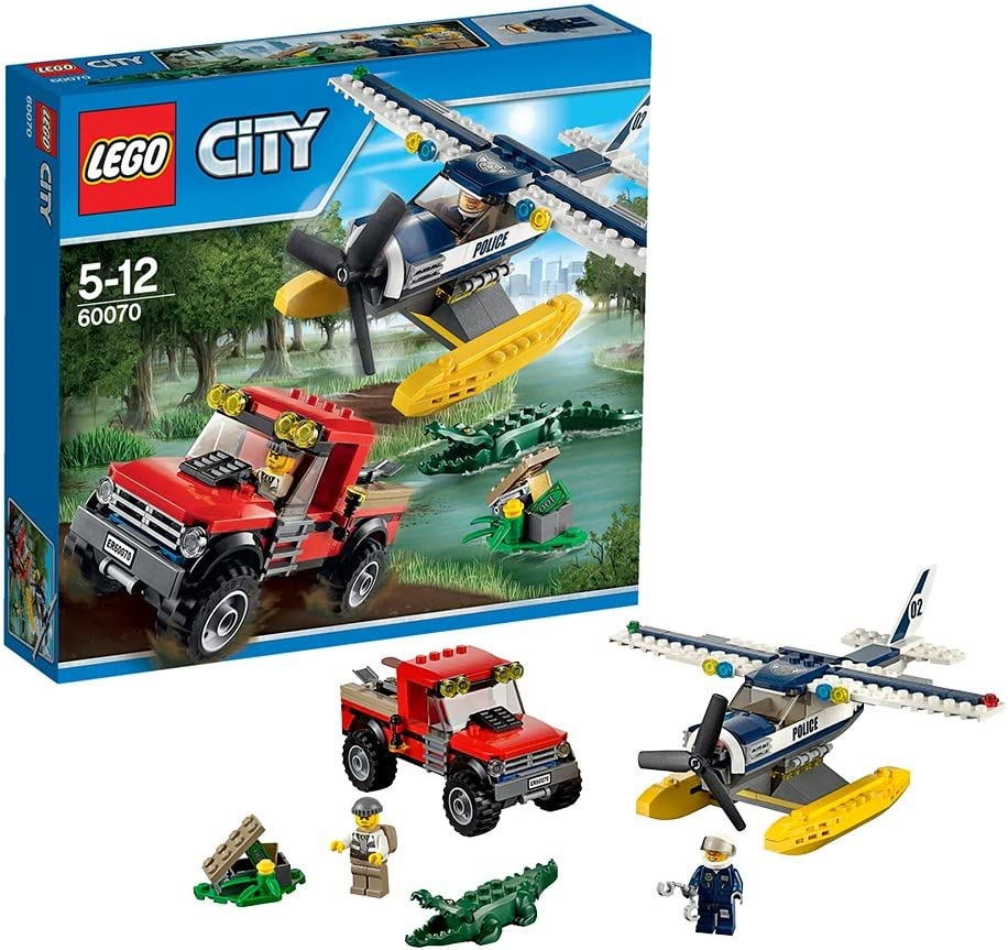 LEGO City Water Plane Chase Set #60070