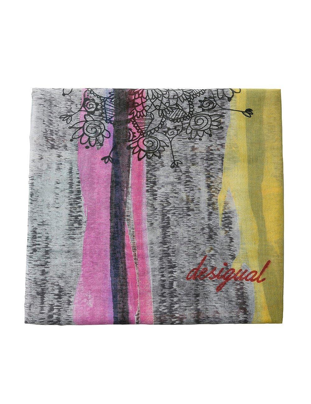 TALLA Talla única (Talla del fabricante: U). Desigual Fular Ana Multicolor
