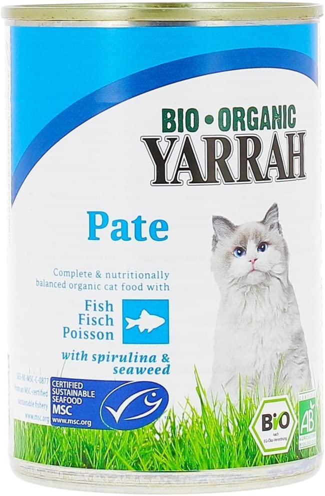 Yarrah - Terri Chat Poisson lot de 6 braquettes de 400G Bio ...