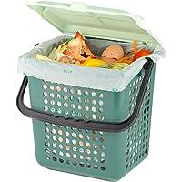 AirBox® kosz na kompostownik, w zestawie 10 l BIOMAT® kompostowalne biobo (52 szt. z uchwytem)
