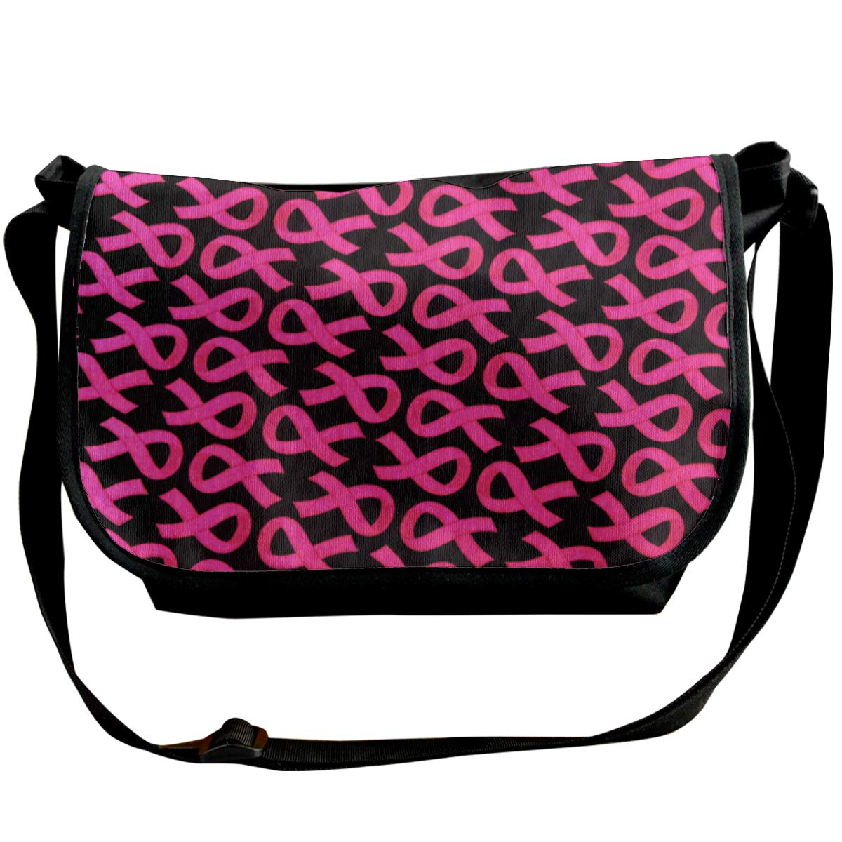 Breast Cancer Awareness Travel Messenger Bags Handbag Shoulder Bag Crossbody Bag Unisex Futong Huaxia Pink Ribbon