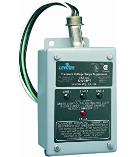 Marvelous Amazon Com Leviton 51120 3 3 Phase Panel Protector 120 208 Volt Wiring 101 Sianudownsetwise Assnl