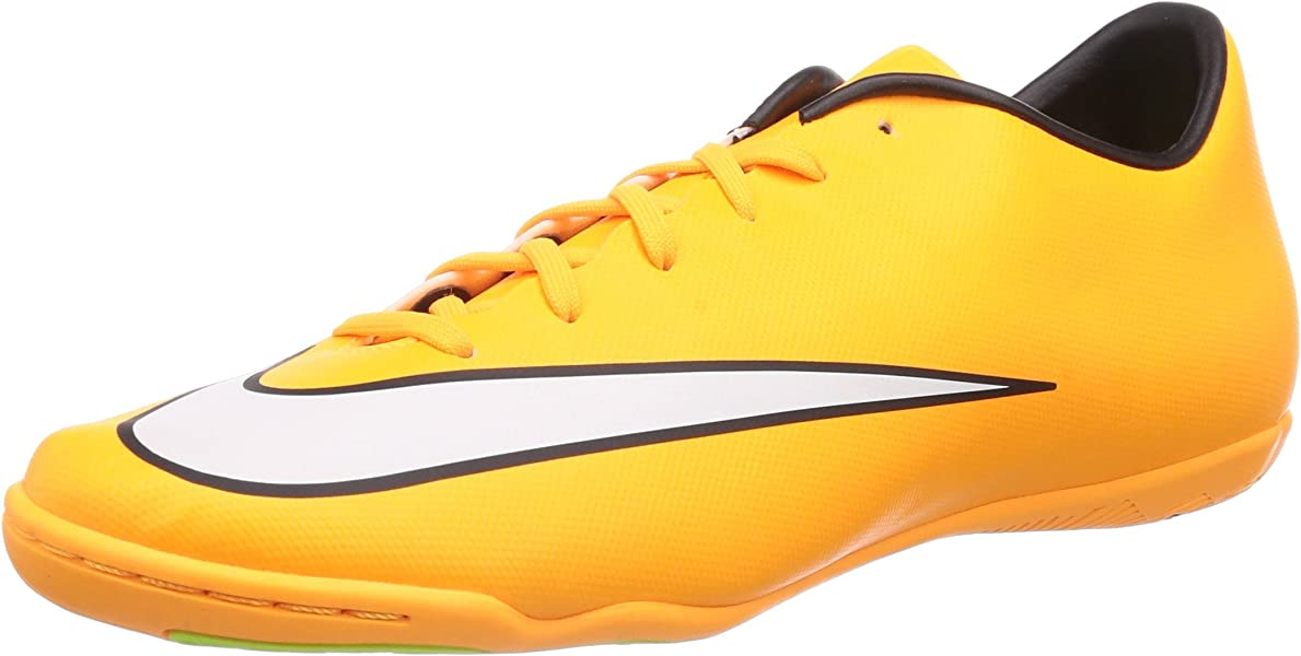 a718d515e15 Nike Mens Mercurial Victory V IC Laser Orange White Black Volt Indoor Soccer