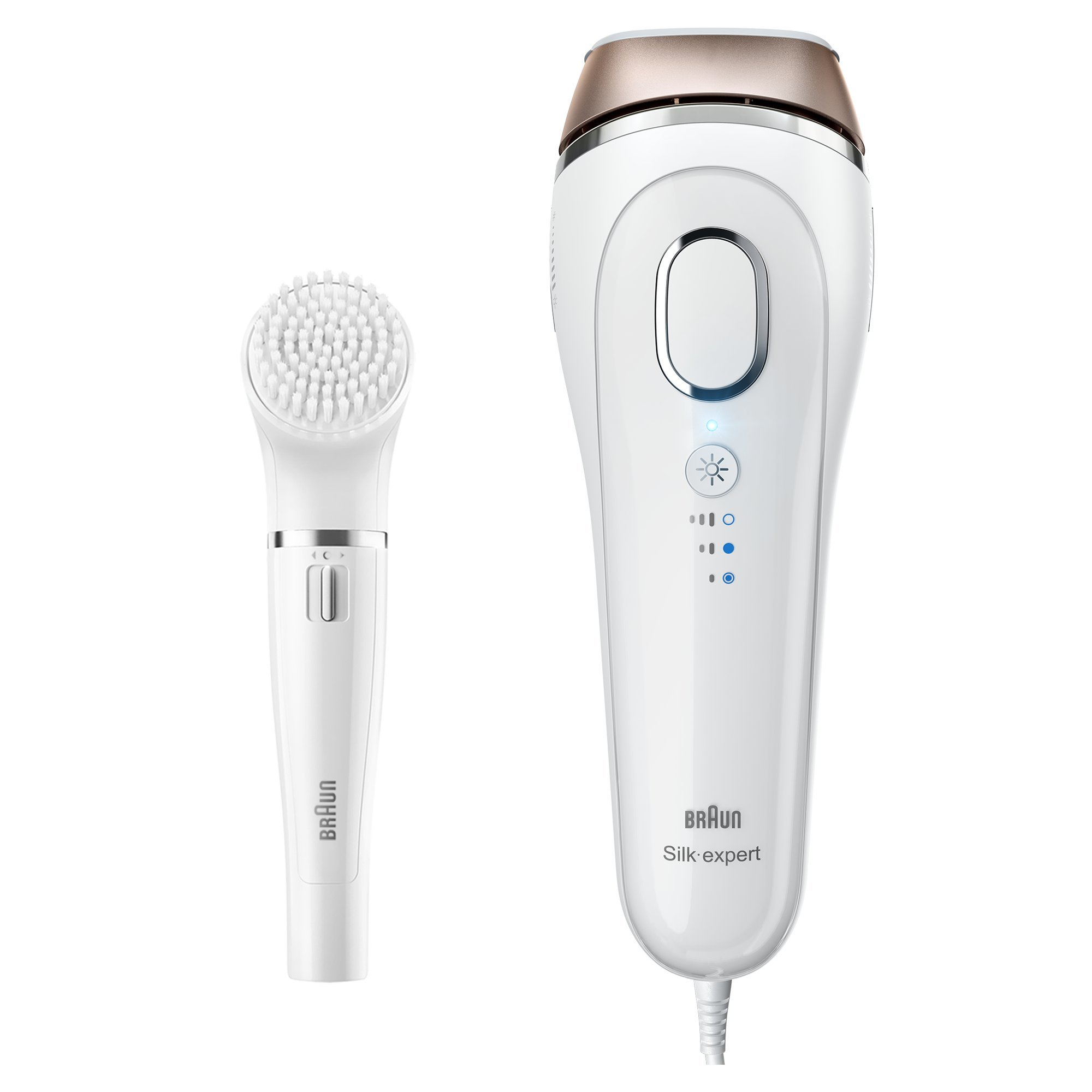 Braun Silk Expert 5 Ipl Hair Removal Bd 5008 Permanent Visible Hair Removal At Home For Body And Face Corded For Non Stop Use Braun Face Cleansing Brush White Bronze Buy Online