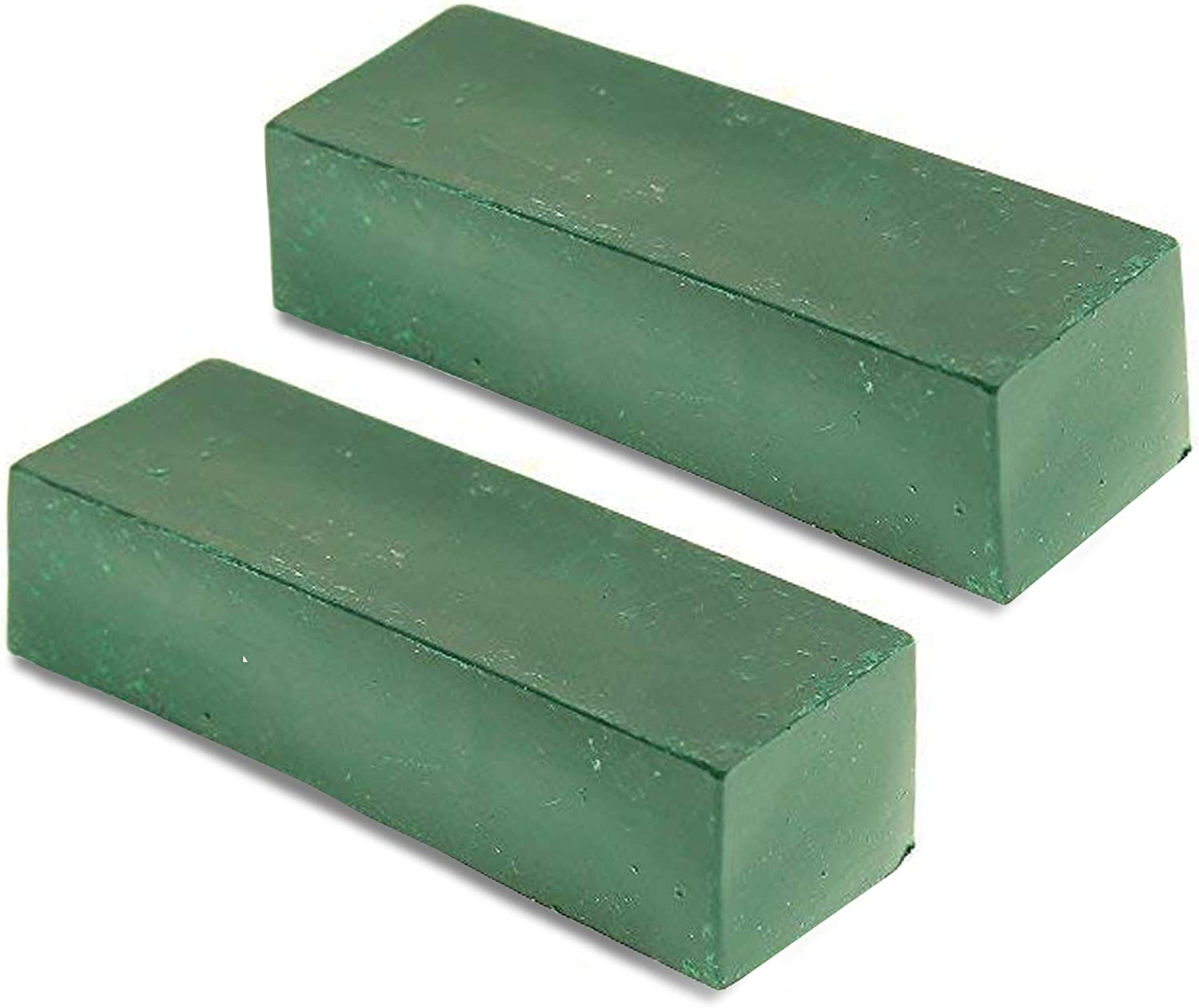 Green Strop Compound PP02 Stainless Carbon Steel Polishing Compound Chromium Oxide Green Rouge Polishing Compound Buffing Compound 2 Bars 4 Oz BeaverCraft Leather Strop Green Honing Compound