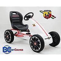 Babycoches Kart Coche de Pedales Fiat Abarth, Ruedas
