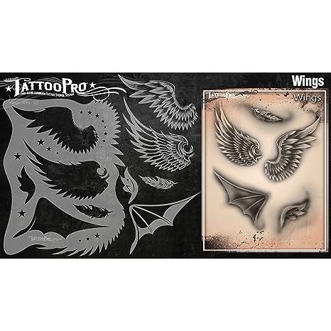 Tatuaje Pro Plantillas Serie 2 - Reloj de Arena y de la Daga: Amazon.es: Productos para mascotas