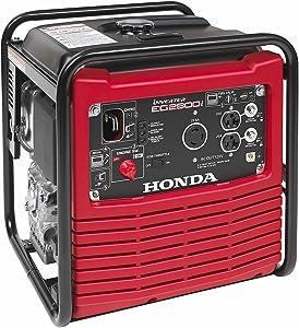 Honda Power Equipment EG2800IA 2800W 120V Full Frame Portable Inverter Gas Generator, Steel