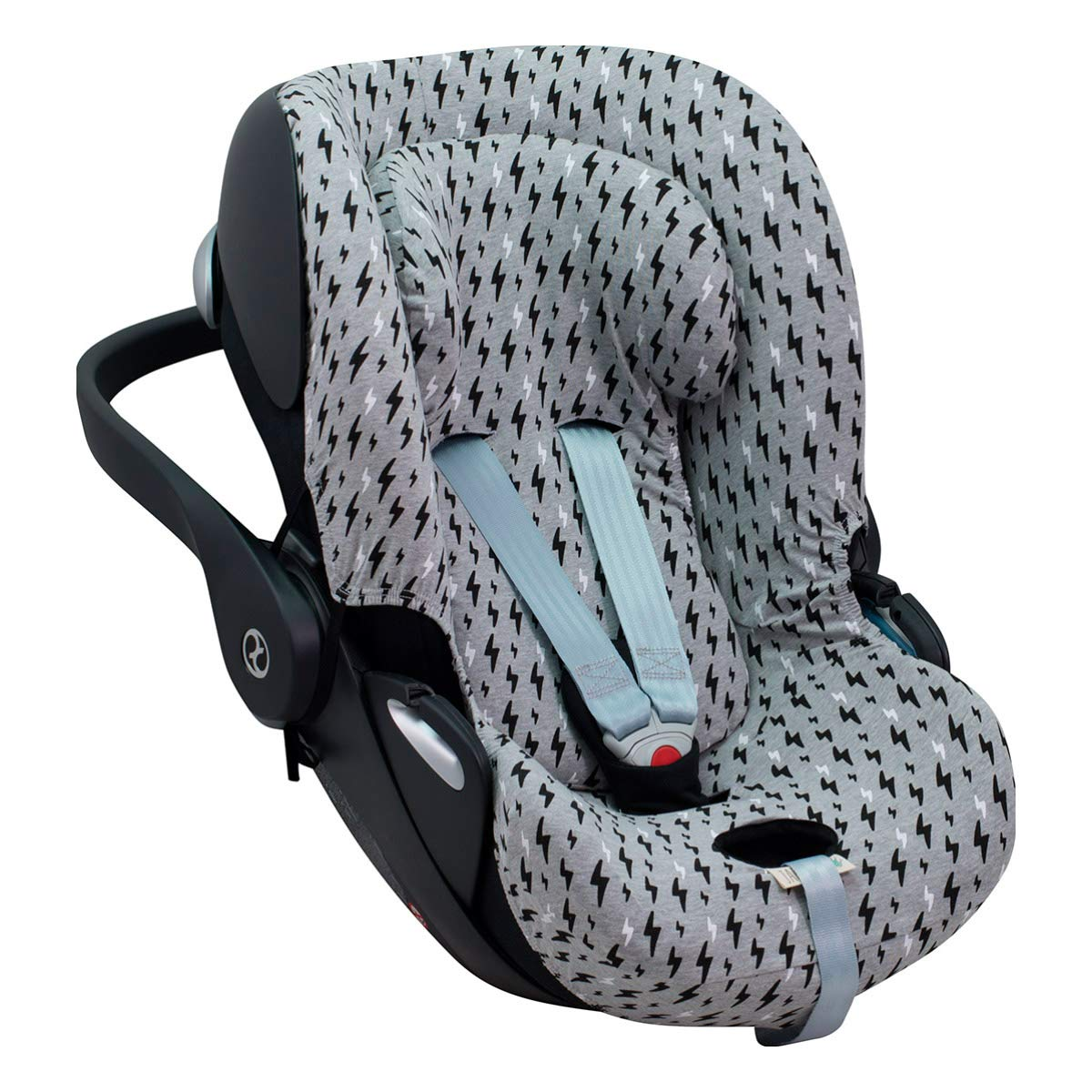 Cloud Q 2 Cloud Q-M Black Rayo M JANABEBE Cover Liner Compatible with Cybex Aton