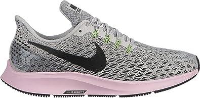 92ba8c8caefbac Nike Damen WMNS Air Zoom Pegasus 35 Leichtathletikschuhe Mehrfarbig (Vast  Grey Black Pink