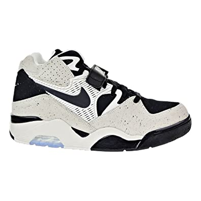 0627aa475c35 Nike Air Force 180 Men s Shoes Sail Black 310095-101 (7.5 D(