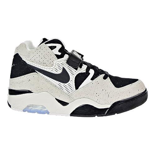 low priced b3b1c 98d9c NIKE310095-101 - Nike Air Force 180 Vela/Negro para Hombre 310095-101  Hombres: Amazon.es: Zapatos y complementos