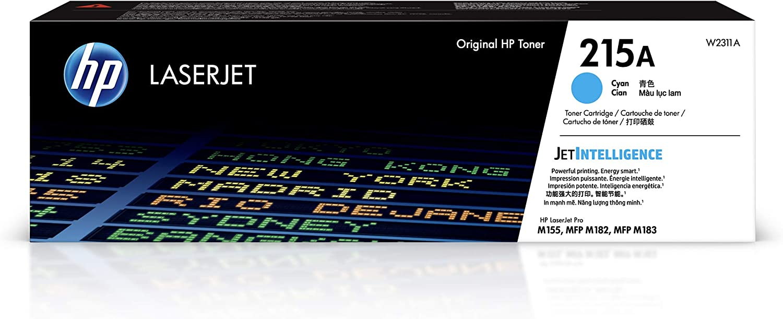 HP 215A | Toner Cartridge | Cyan | W2311A, One Size