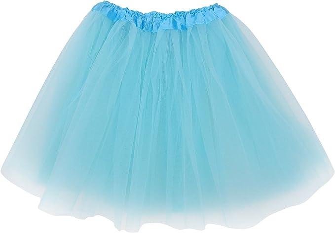 So Sydney Adult Plus Size Tutu Skirt, Tutu for Women, 3 Layer Costume  Women\'s Ballet Dress