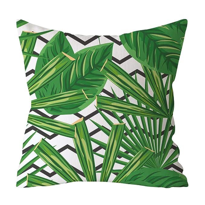 YWLINK Tropicales Plantas La Hoja Verde Imprimió La ...