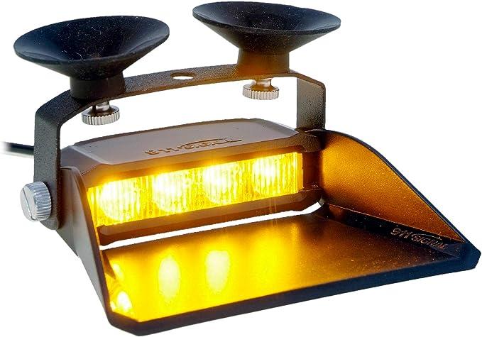 Led Martin S4 Straßenräumer Lichtfarbe Gelb Für Den Professionellen Einsatz Ece R65 Typengenehmigung Frontblitzer Mit 19 Blitzmuster 12v 24v 3 Meter Anschlusskabel Beleuchtung